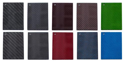 Carbon Muster und verschiedene Farben